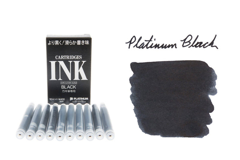 Platinum Black - Ink Cartridges (10-Pack)