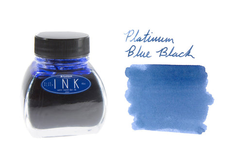 Platinum Blue-Black - 60ml Bottled Ink