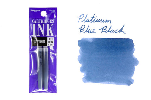 Platinum Blue-Black - Ink Cartridges (2-Pack)