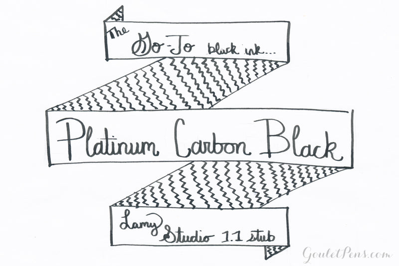 Platinum Carbon Black - 60ml Bottled Ink