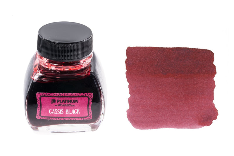Platinum Classic Cassis Black - 60ml Bottled Ink