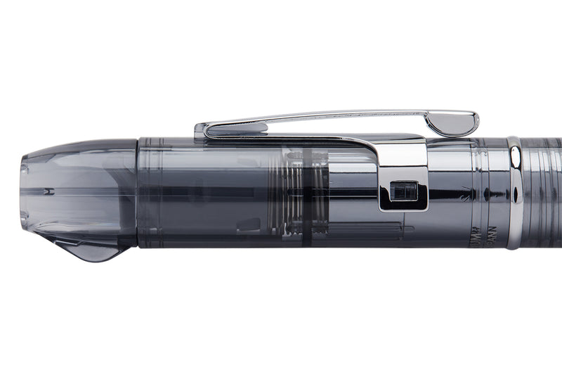 Platinum Curidas Fountain Pen - Graphite Smoke