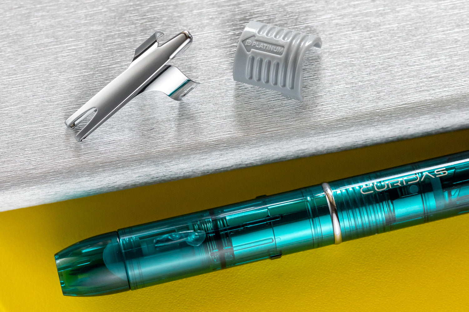 Platinum Curidas Fountain Pen - Urban Green