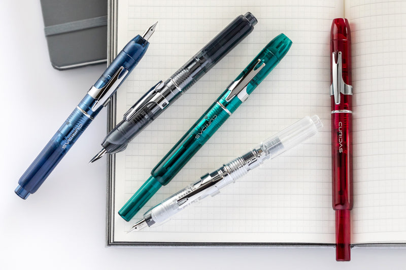 Platinum Curidas retractable fountain pens