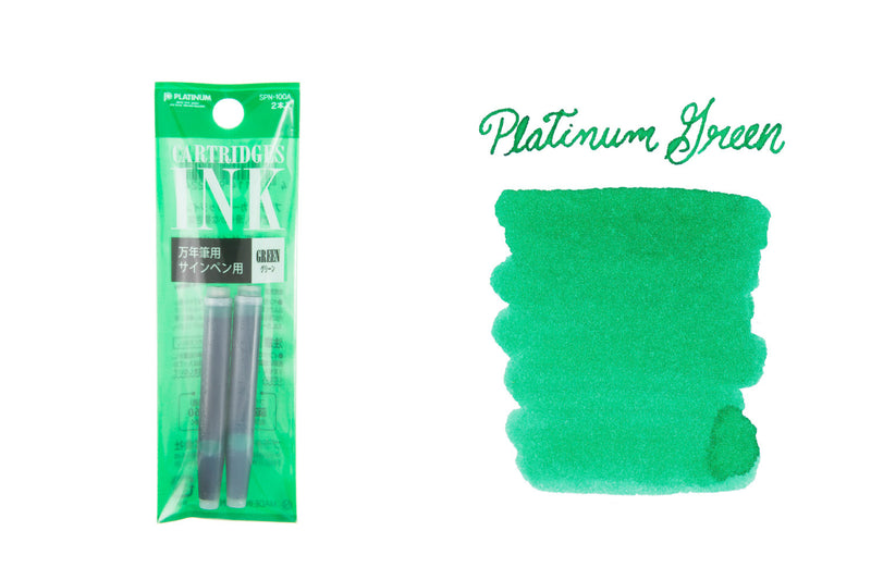 Platinum Green - Ink Cartridges