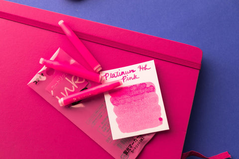 Platinum Highlighter Pink - Ink Cartridges
