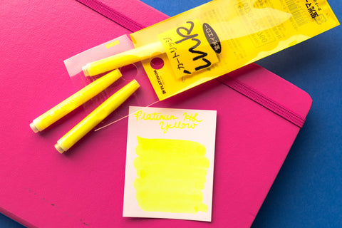 Platinum Highlighter Yellow - Ink Cartridges