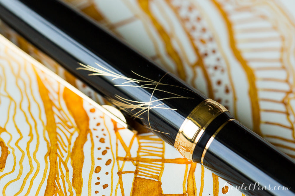 Platinum Kanazawa Leaf Fountain Pen - The Moon and a Rabbit