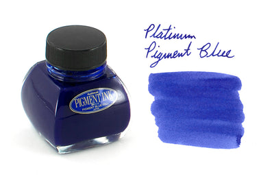 Platinum Pigmented Blue - 60ml Bottled Ink