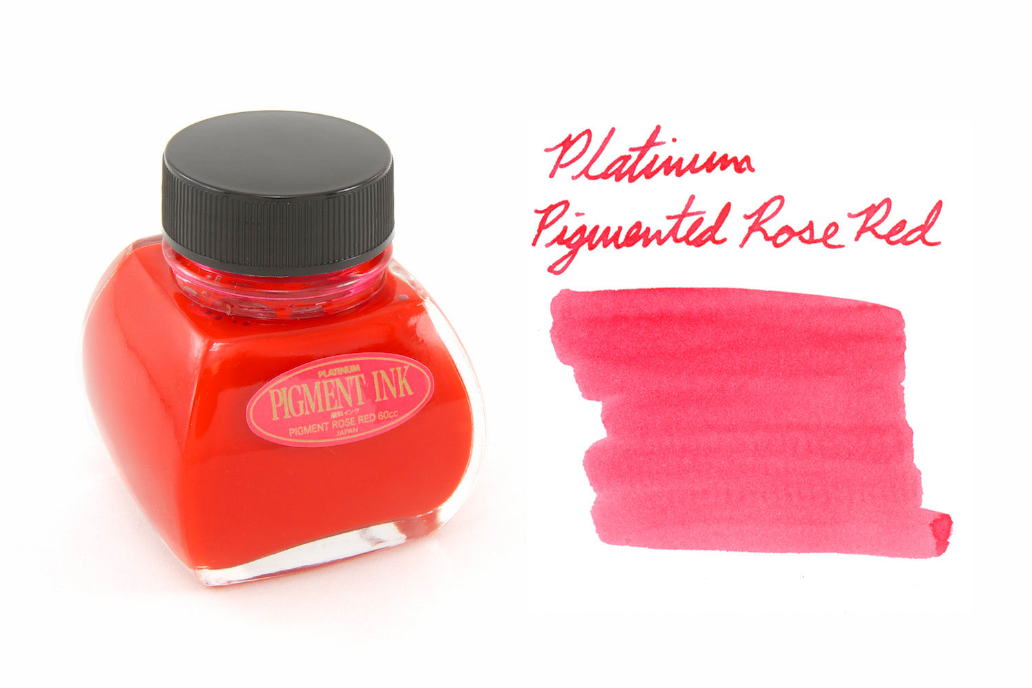 Platinum Pigmented Rose Red - 60ml Bottled Ink