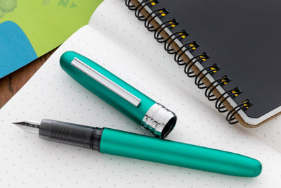 Platinum Plaisir Fountain Pen - Teal Green (Special Edition)