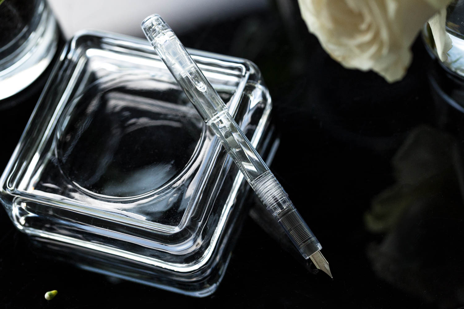 Platinum Preppy Fountain Pen - Crystal
