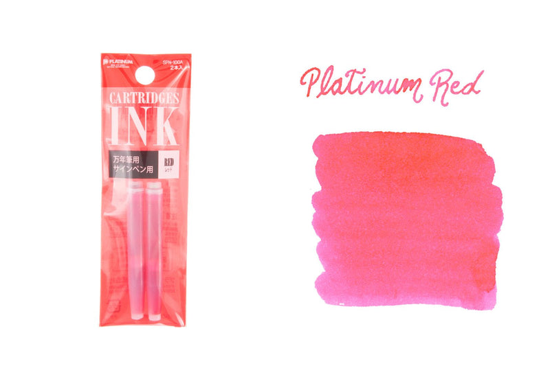 Platinum Red - Ink Cartridges