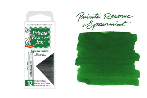 Private Reserve Spearmint - Ink Cartridges