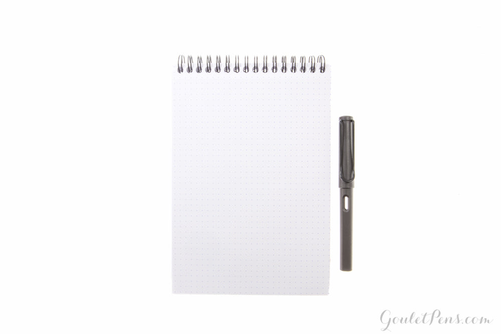 Rhodia No. 16 Top Wirebound A5 Notebook - Black, Dot Grid