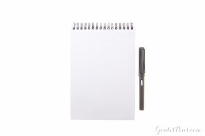 Rhodia No. 16 Top Wirebound Notebook - Black, Dot Grid (5.875 x 8.25)