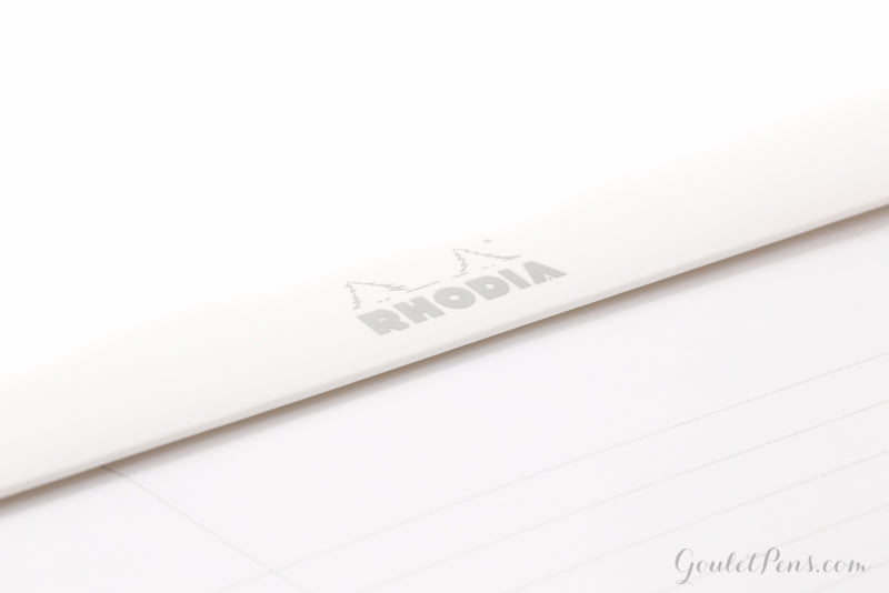 Rhodia No. 16 Notepad - Ice White, Lined (5.83 x 8.27)