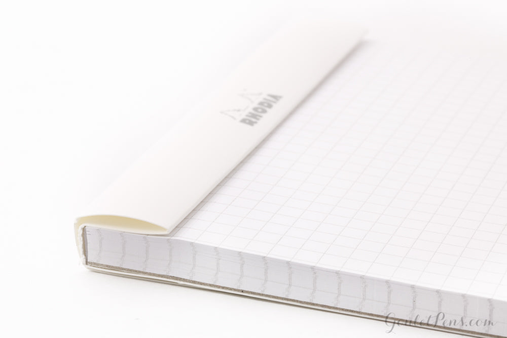 Rhodia No. 18 A4 Notepad - Ice White, Graph