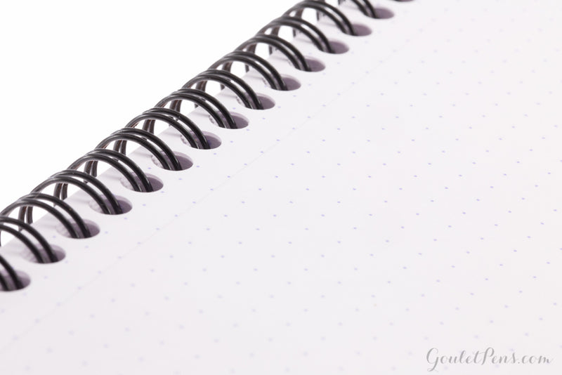 Rhodia No. 18 Top Wirebound Notebook - Orange, Dot Grid (8.25 x 11.75)