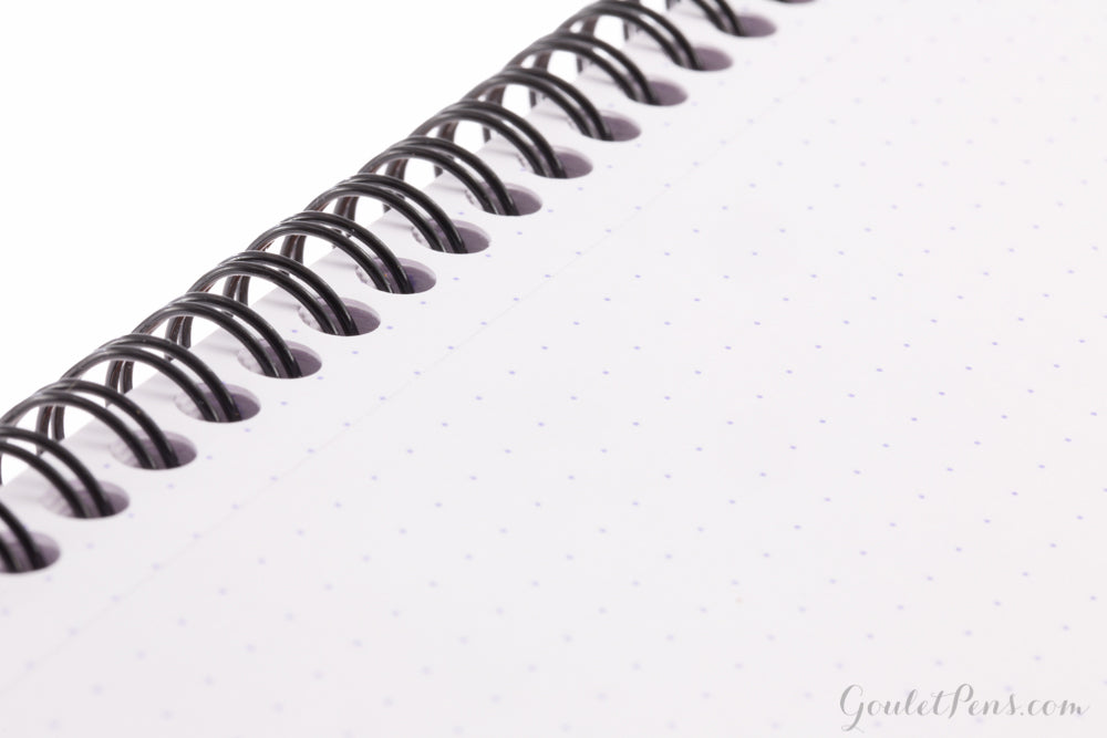 Rhodia No. 18 Top Wirebound A4 Notebook - Black, Dot Grid