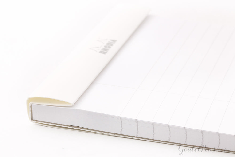Rhodia No. 18 A4 Notepad - Ice White, Lined