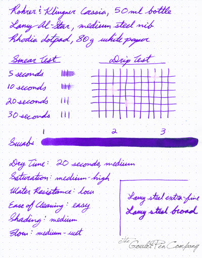Rohrer & Klingner Cassia - 50ml Bottled Ink