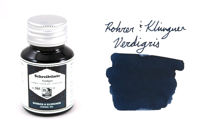 Rohrer & Klingner Verdigris - 50ml Bottled Ink