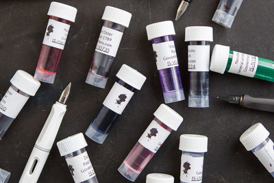 Goulet Ink Samples