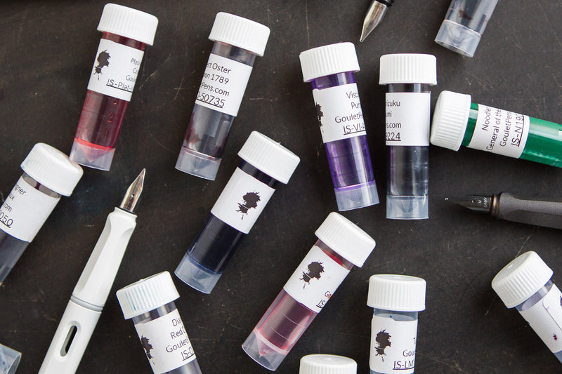Brian Goulet's Favorites - Ink Sample Set