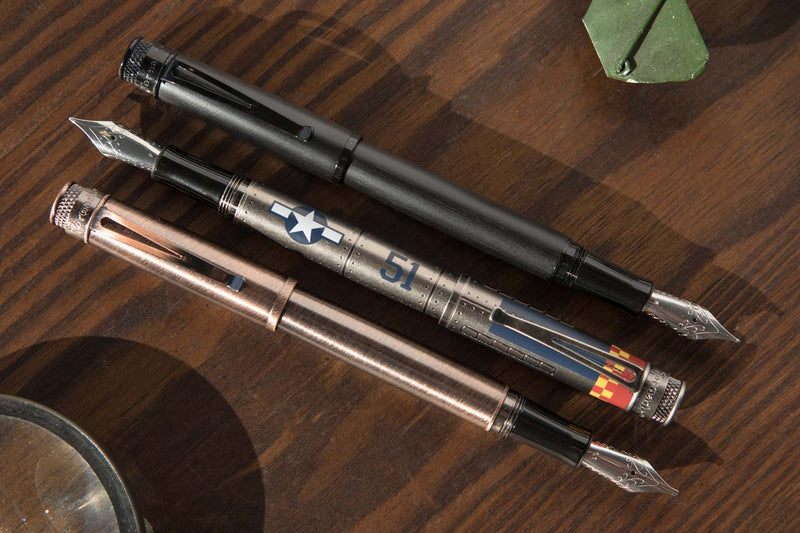 Retro 51 Tornado Fountain Pen - Lincoln