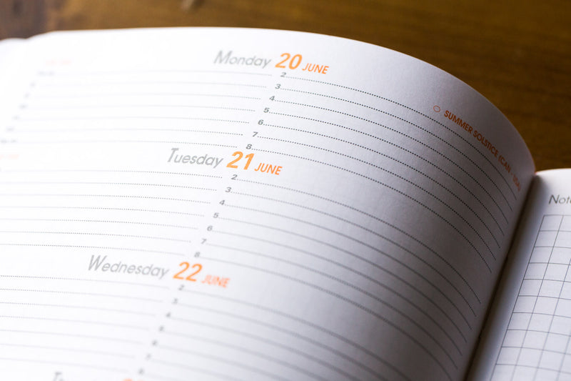 Rhodia Medium Webplanner interior