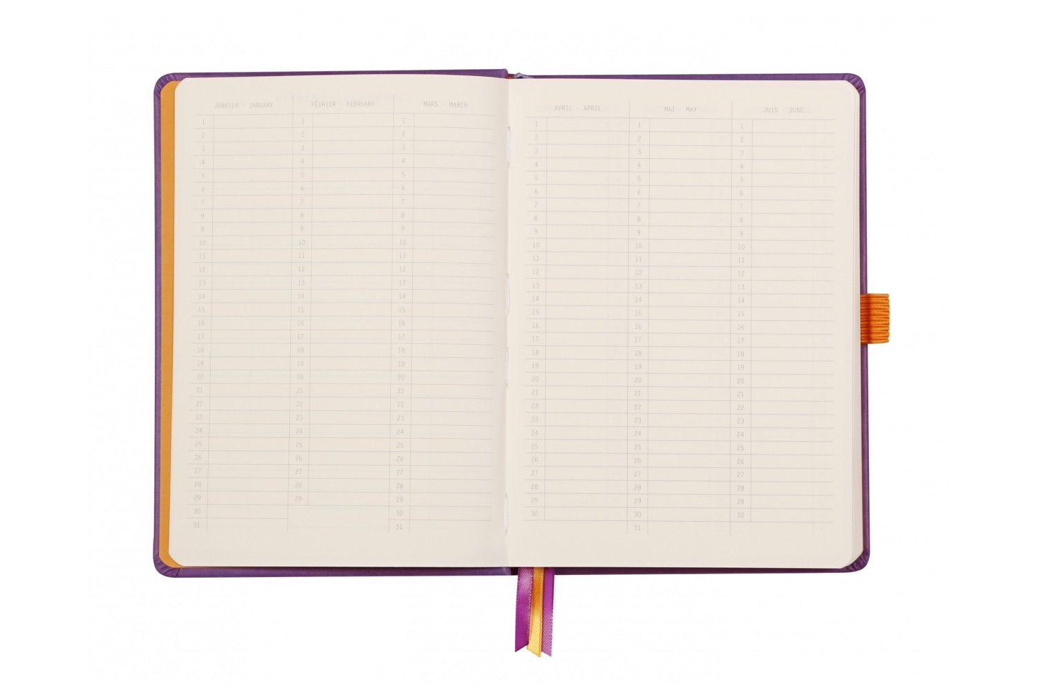 Rhodia A5 Hardcover Goalbook - Chocolate, Dot Grid