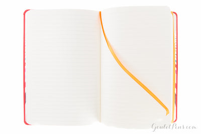 Rhodia Rhodiarama Medium Webnotebook - Poppy Red, Lined (5.51 x 8.27)