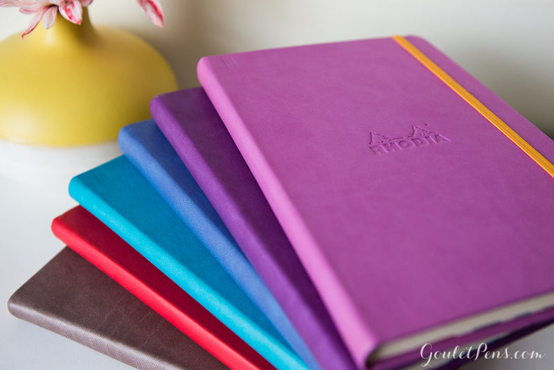Rhodia Rhodiarama Medium Webnotebook - Purple, Lined (5.51 x 8.27)
