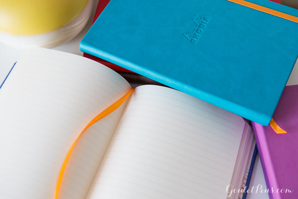 Rhodia Rhodiarama A5 Webnotebook - Poppy Red, Lined