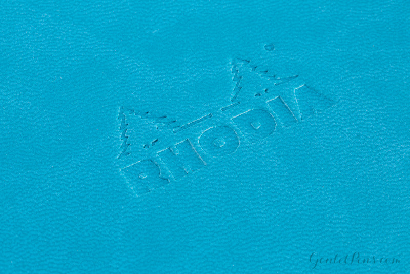 Rhodia Rhodiarama A5 Webnotebook - Turquoise, Lined