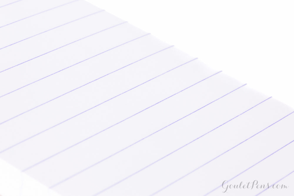 Rhodia No. 11 A7 Notepad - Black, Lined