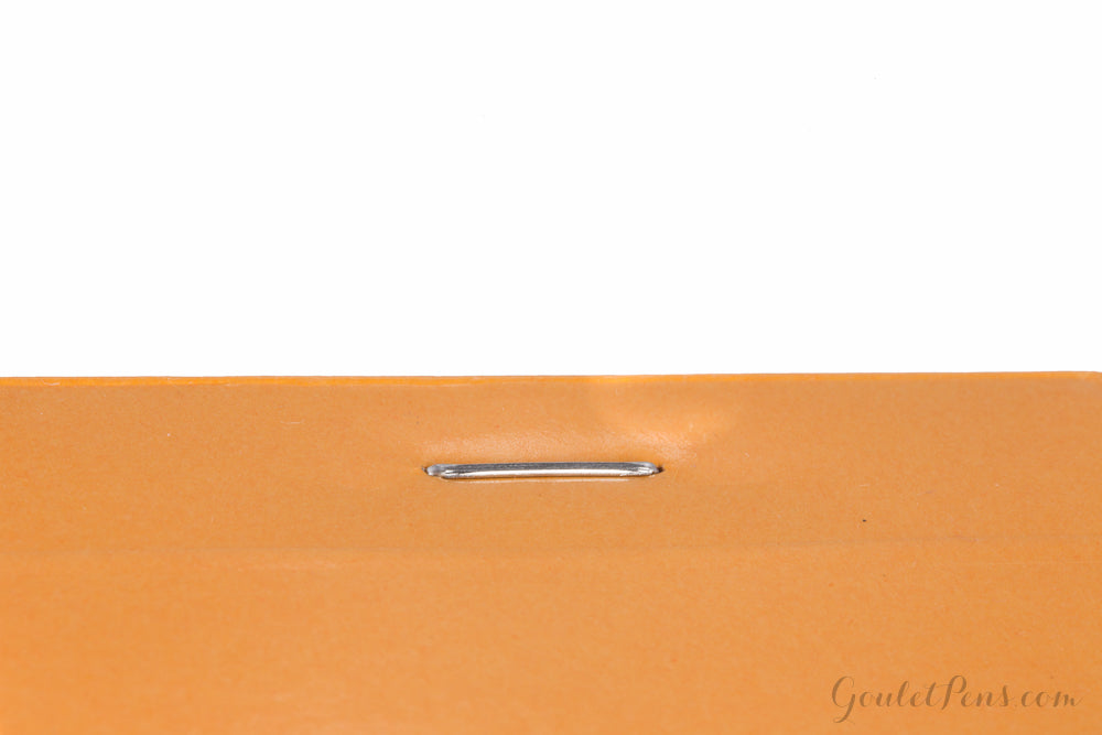 Rhodia No. 11 A7 Notepad - Orange, Graph