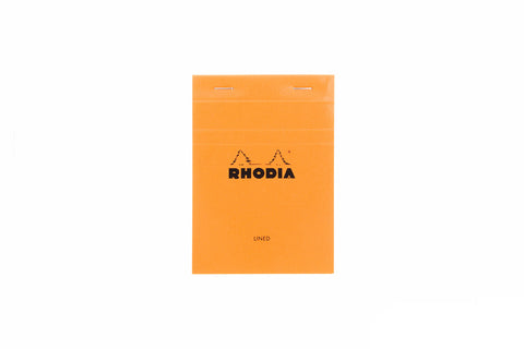 Rhodia No. 13 A6 Notepad - Orange, Lined