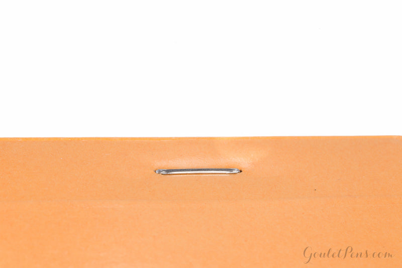 Rhodia No. 18 Notepad - Orange, Lined with 3-Hole Punch (8.27 x 11.69)