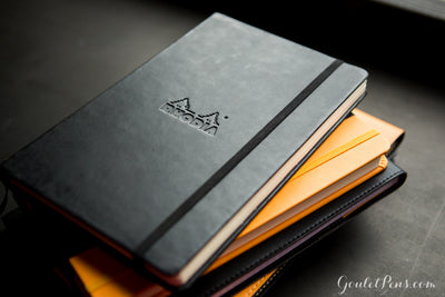 Rhodia Medium Webnotebook - Black, Dot Grid (5.51 x 8.27)
