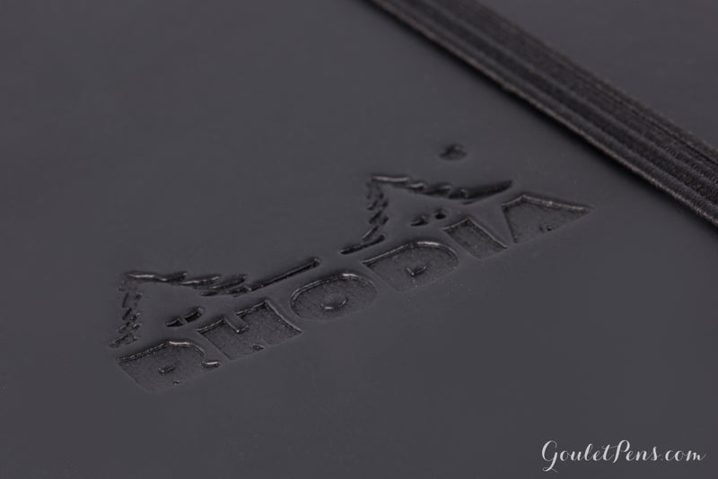 Rhodia A5 Webnotebook - Black, Dot Grid