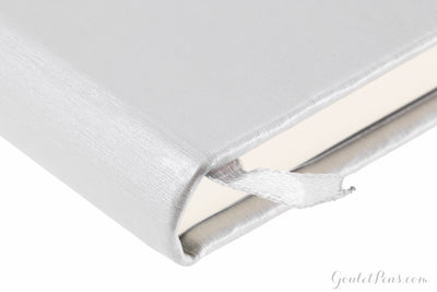Rhodia Medium Webnotebook - Silver, Lined (5.51 x 8.27)