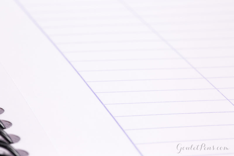 Rhodia Classic Wirebound Notebook - Black, Lined (8.86 x 11.69)