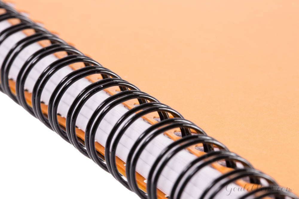 Rhodia Classic Wirebound Notebook - Orange, Graph (8.86 x 11.69)