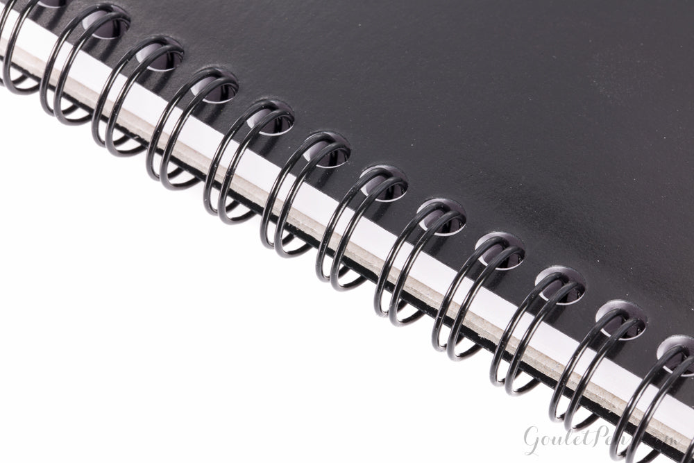 Rhodia No. 16 Top Wirebound A5 Notebook - Black, Lined