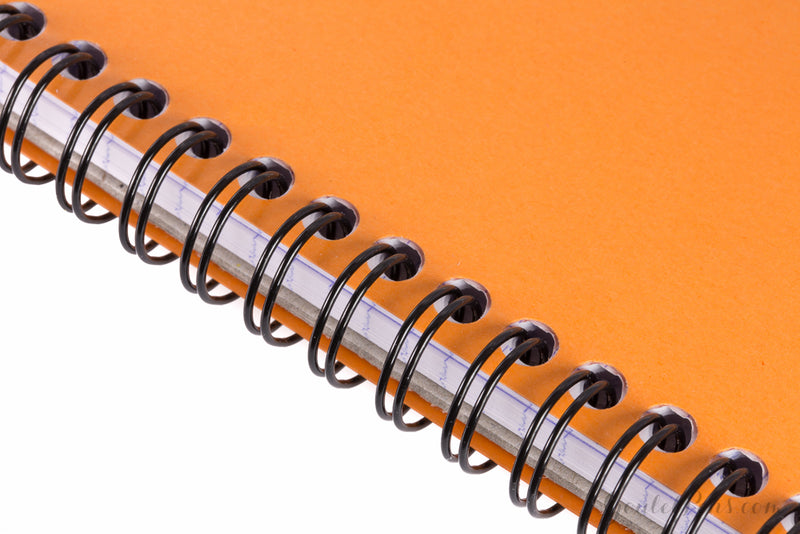 Rhodia No. 18 Top Wirebound Notebook - Orange, Graph (8.25 x 11.75)