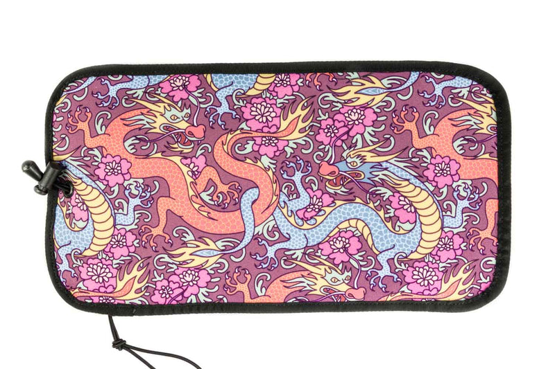Rickshaw Bagworks Deluxe 6-Pen Roll - Flower Dragon
