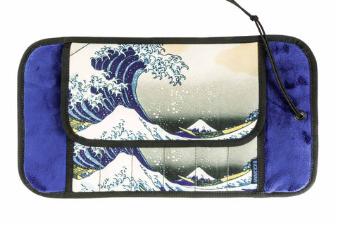 Rickshaw Bagworks Deluxe 6-Pen Roll - Great Wave