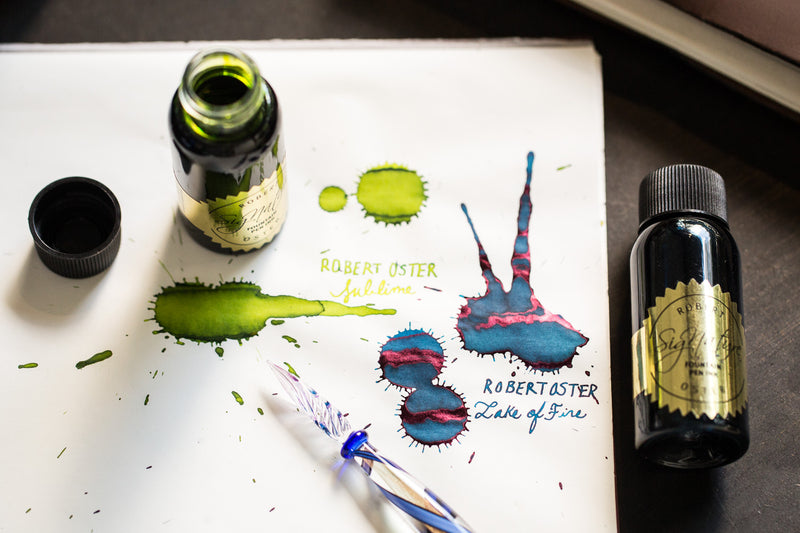 Robert Oster Lake of Fire - 50ml Bottled Ink